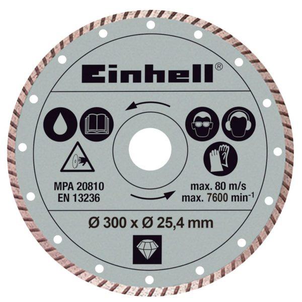Einhell Turbo Diamant-Trennscheibe 300 x 25,4 mm für RT-SC 920 L