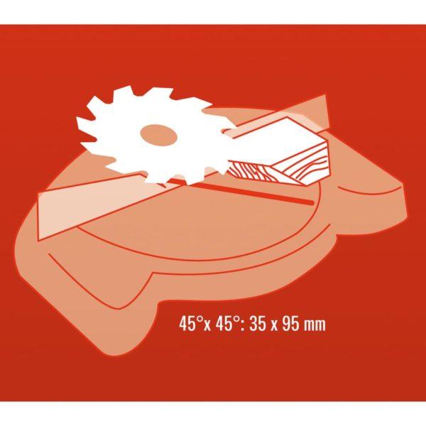 Einhell Kapp- / Gehrungssäge TH-MS 2513 L