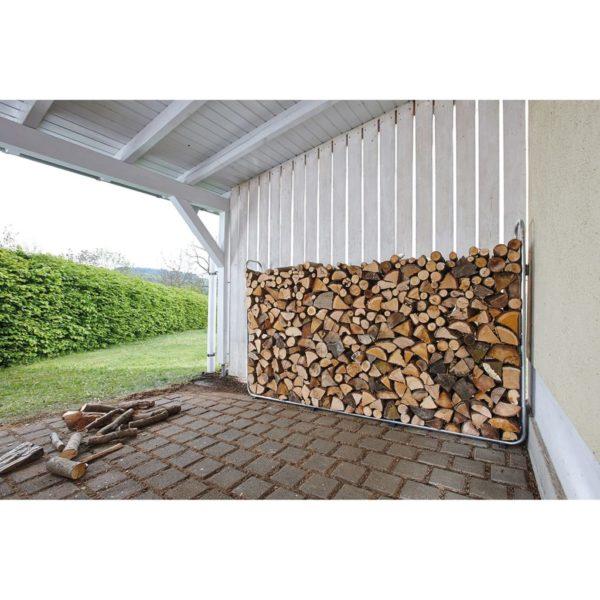 wolfcraft Stapelhilfe für Brennholz Modular XXL 5125000