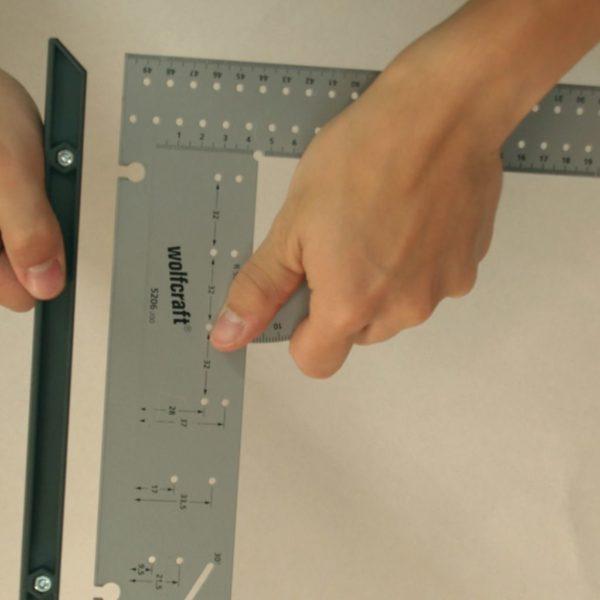 wolfcraft Universal-Messwerkzeug 500 mm 5206000