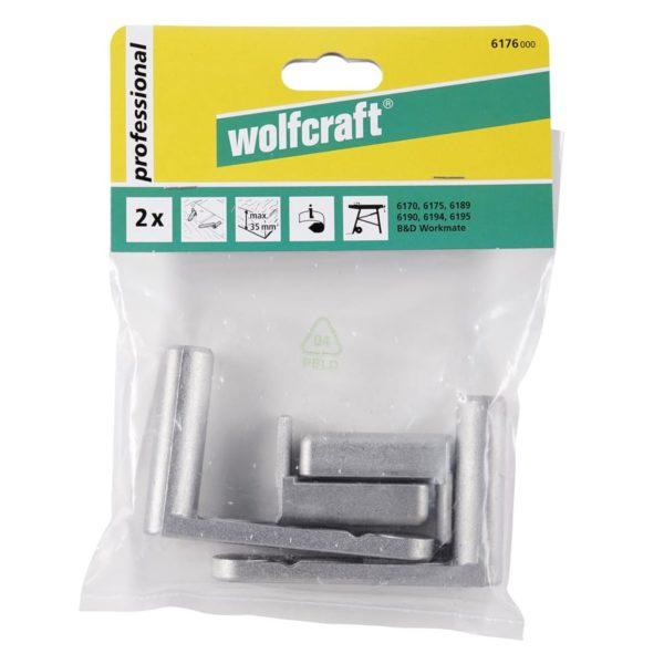 wolfcraft 2 Schnellspanner 6176000