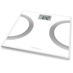 Medisana Körperanalyse Waagen BS 445 Weiß 180 kg 40441