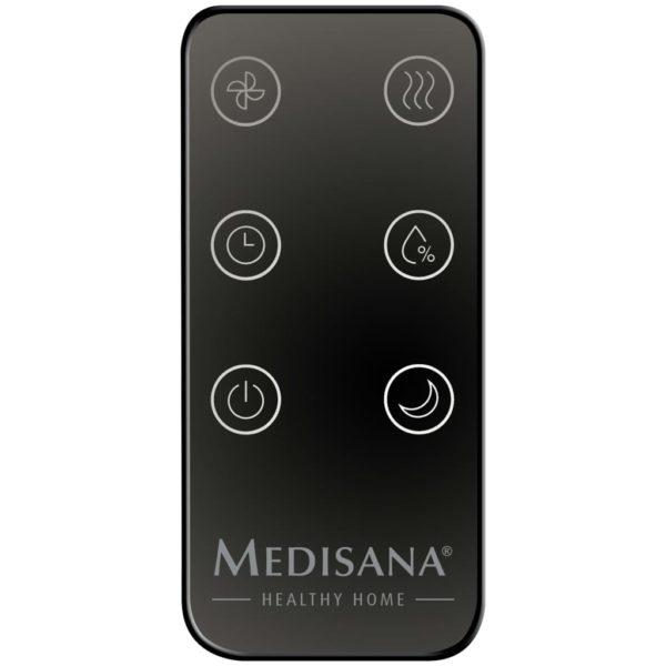 Medisana Luftbefeuchter mit Hygrometer AH 675 116 W Schwarz