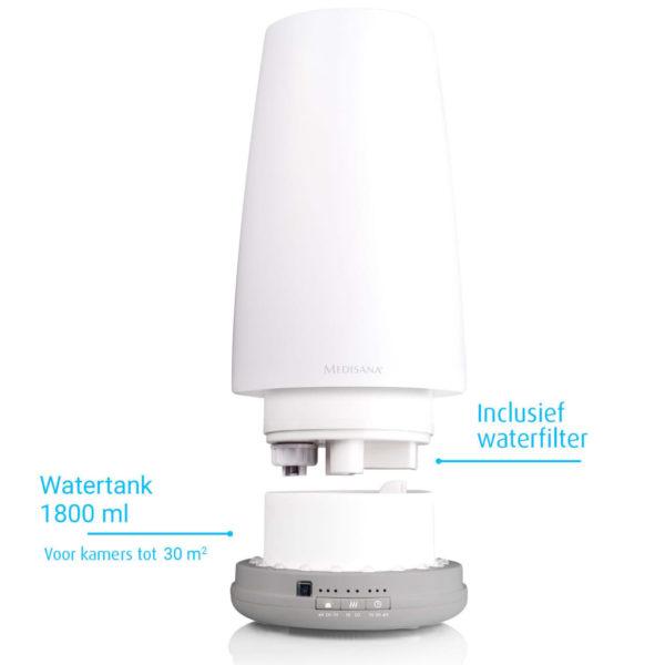 Medisana Luftbefeuchter AH 670 35 W Weiß