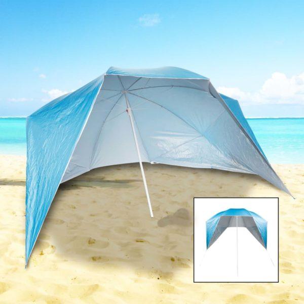 HI Sonnenschirm mit Seitenwänden UV50+ 240 x 233 cm