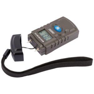 Draper Tools Feuchtigkeitsmesser Schwarz 43618