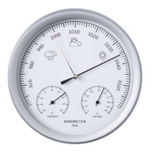 Nature 3-in-1 Barometer mit Thermometer und Hygrometer 20 cm 6080081