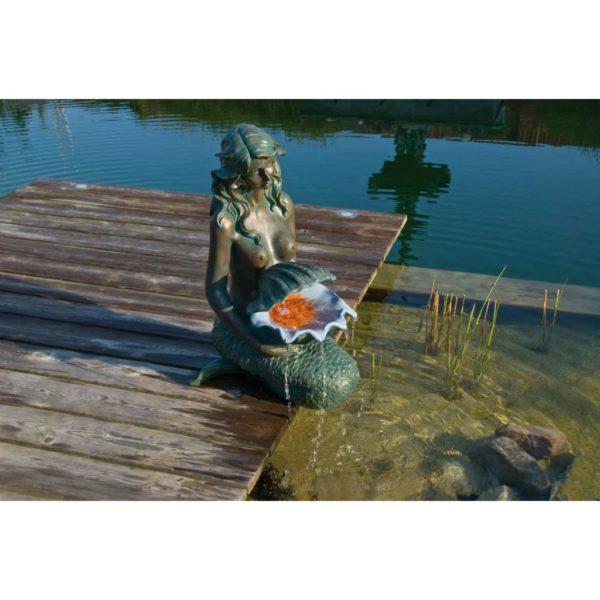 Ubbink Wasserspiel OSLO Bronze und Kupfergrün