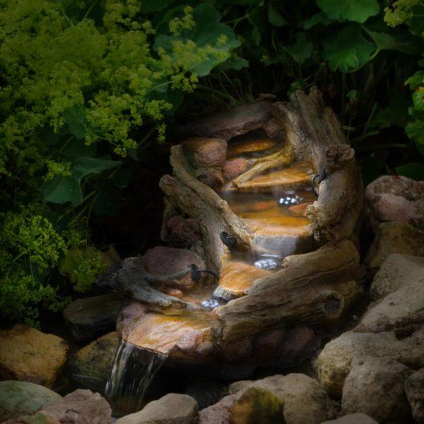 Ubbink Gartenwasserfall REVETON Rechtsläufig