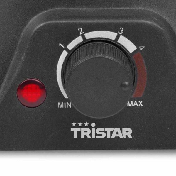 Tristar Familien-Fondue-Set 1400 W 1,3 L Edelstahl Silbern