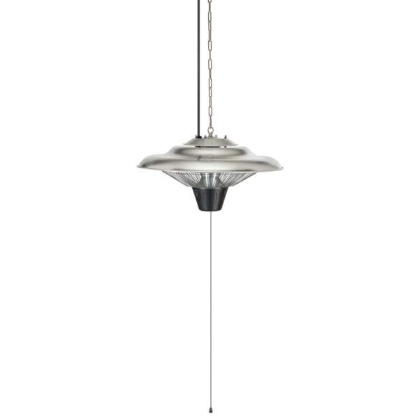 Tristar Hängender Terrassenheizer KA-5271 1500 W Halogen Silbern