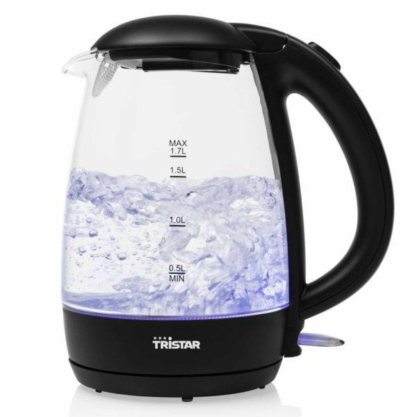 Tristar Wasserkocher 2200 W 1,7 L Glas