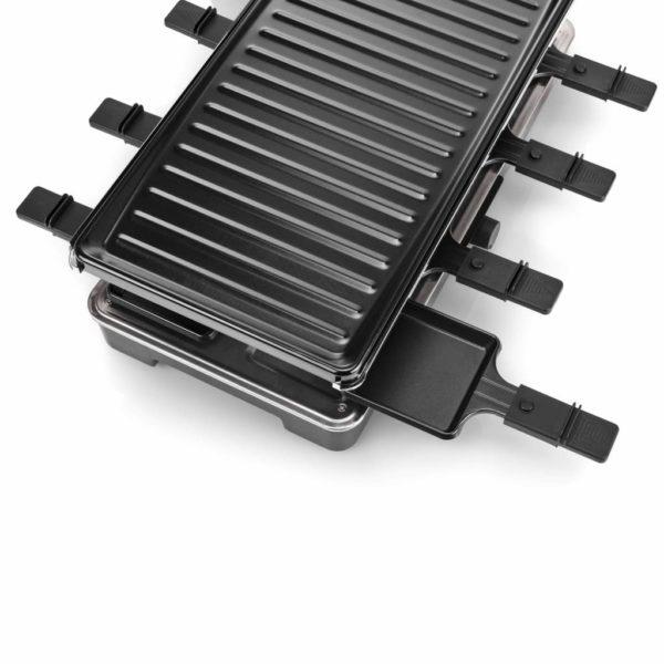 Tristar 8-Personen Raclette-Grill 1400 W 46 x 23 cm Schwarz