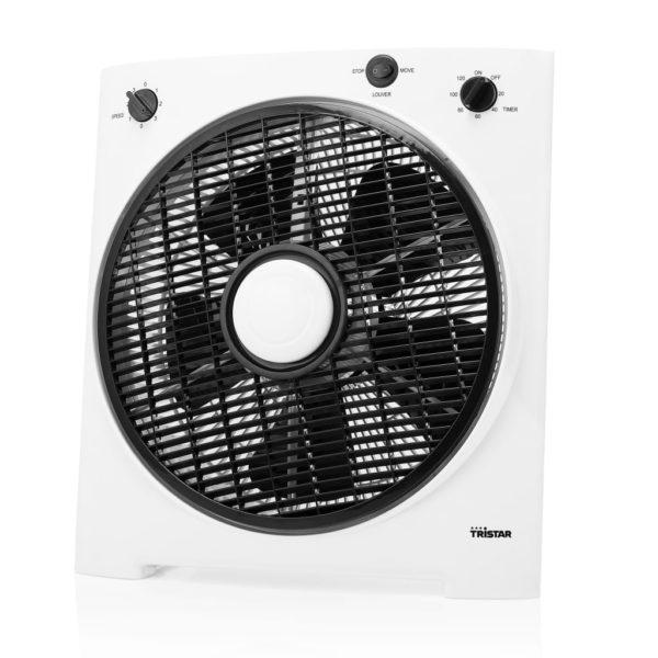Tristar Tischventilator VE-5858 30W 30cm Weiß und Schwarz