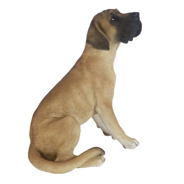 Esschert Design Deutsche Dogge Sitzend 42,5×31,6×52,4 cm