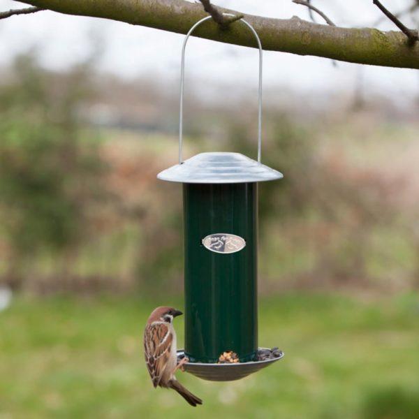 Esschert Design Vogelfutterspender Grün