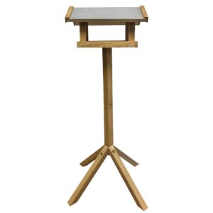 Esschert Design Vogelhäuschen Rechteckiges Stahldach FB432