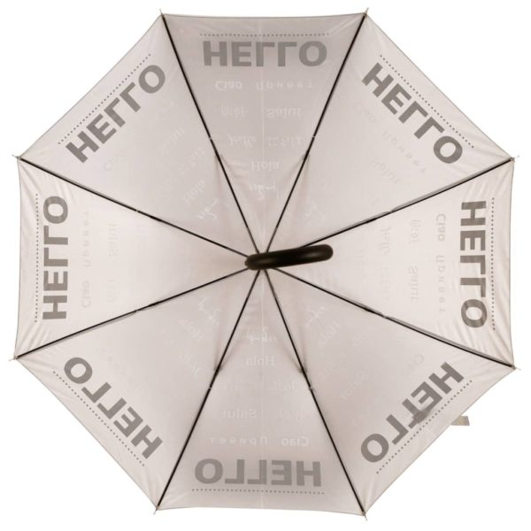 Esschert Design Regenschirm Reflektor Hello