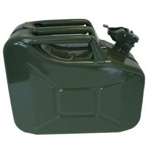 Proplus Benzinkanister Kraftstoff Kanister olivgrün 10L