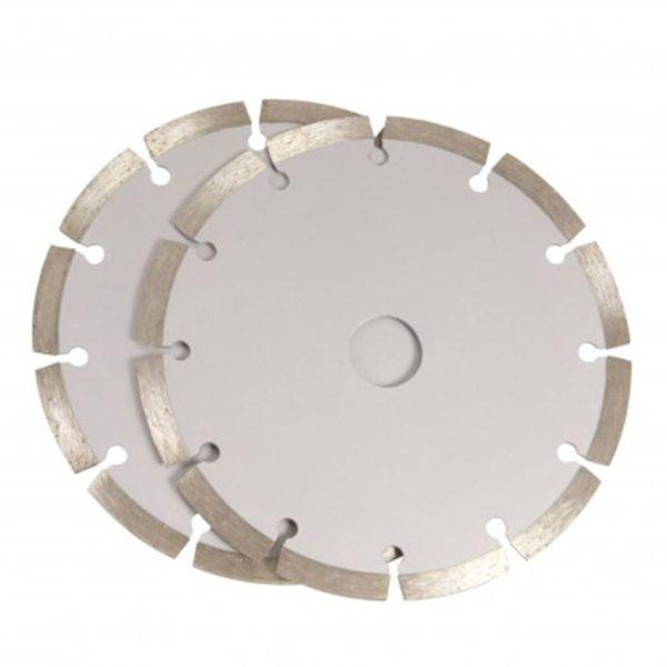 FERM Diamant-Sägeblatt-Set 150 mm 2 Stk. WSA1002
