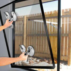 Proplus Saugheber Aluminium mit 3 Saugnäpfen