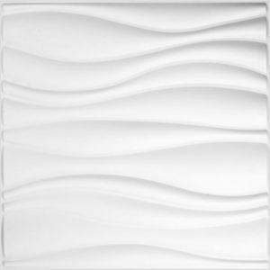 WallArt 3D-Wandpaneele Waves 12 Stk. GA-WA04