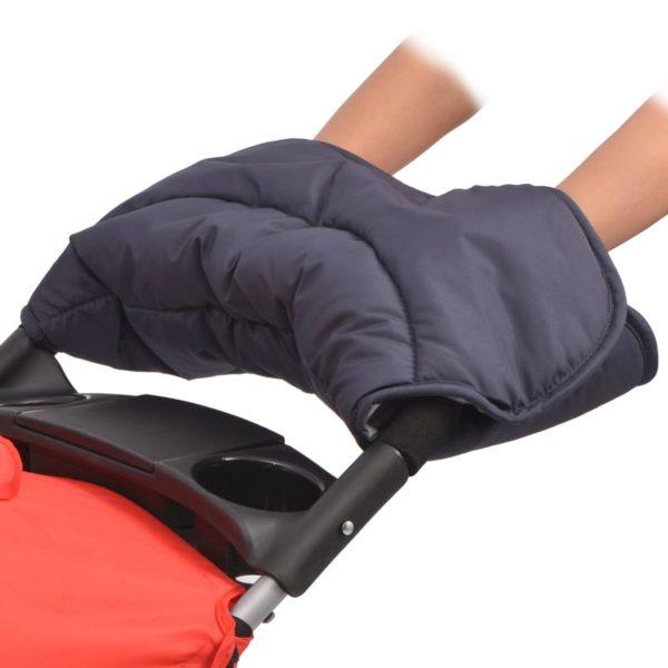 Kinderwagenhandschuh 55×25 cm Marineblau