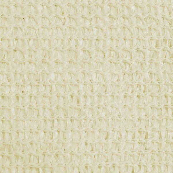 Sonnensegel HDPE Quadratisch 2 x 2 m Creme
