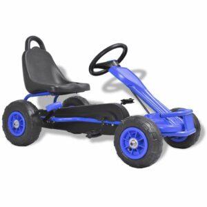 Pedal Go-Kart mit Luftreifen Blau