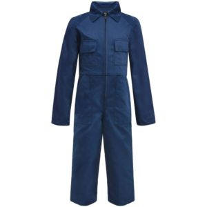 Kinder Arbeitsoverall Größe 146/152 Blau