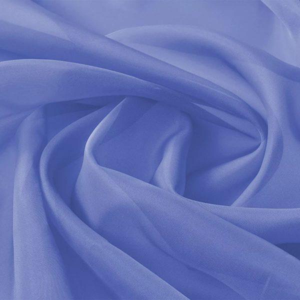 Voile-Stoff 1,45 x 20 m Königsblau