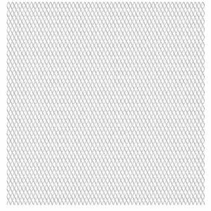 Gittermatte Streckmetall Edelstahl 50×50 cm 20×10×2 mm