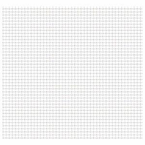 Wellengitter Edelstahl 50×50 cm 11×11×2 mm