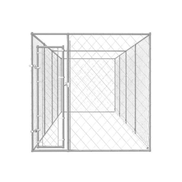 Outdoor-Hundezwinger 8x2x2 m