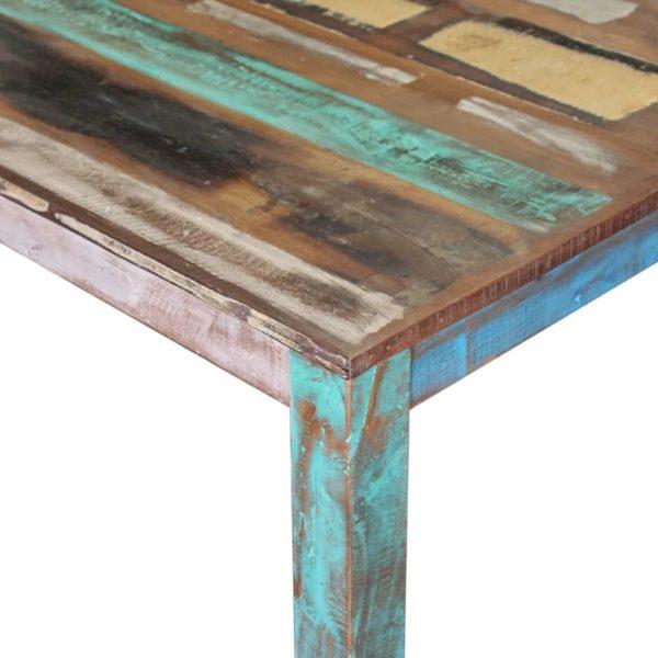 Esstisch Recyceltes Massivholz 80x82x76 cm
