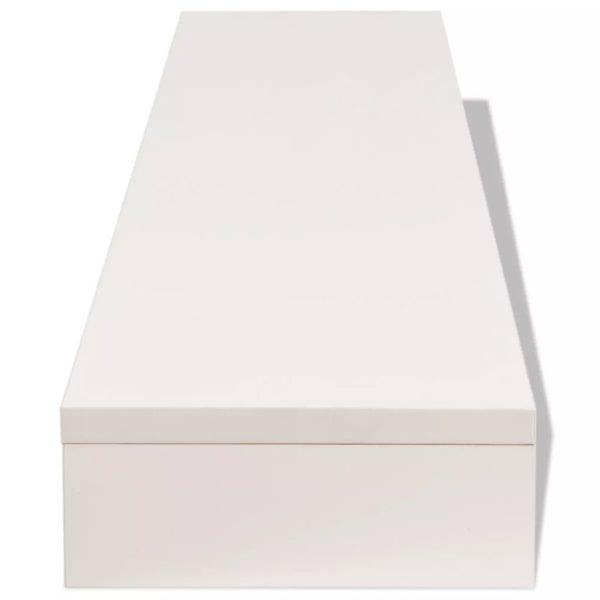 TV-Schrank Spanplatte 118 x 23,5 x 9 cm Weiß