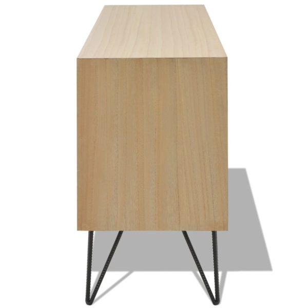 TV-Schrank MDF 120 x 30 x 50 cm Braun