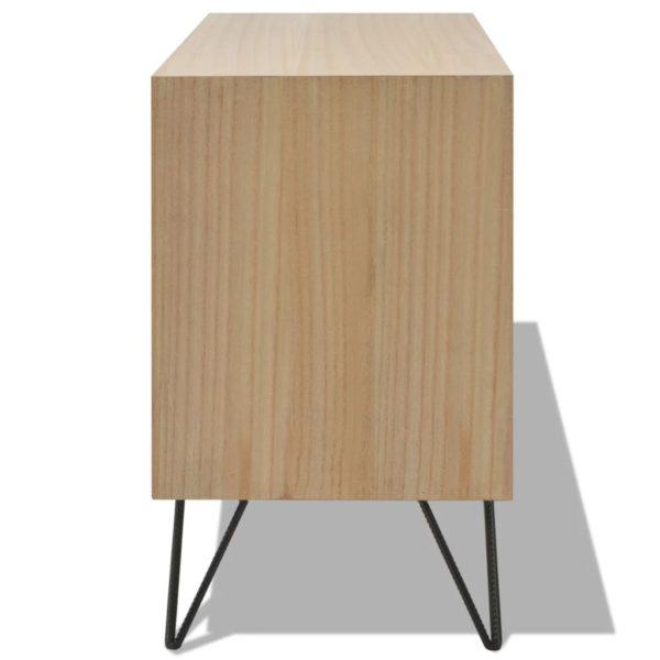 Anrichte Braun 110×35×57 cm MDF