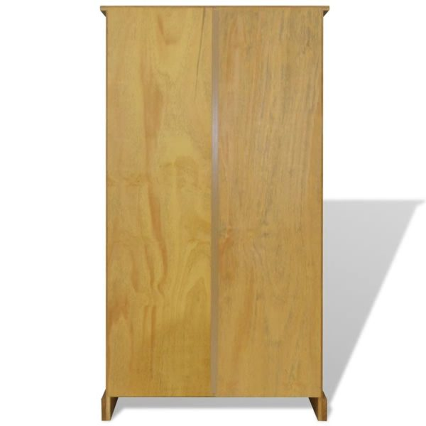 Bücherregal mit 4 Böden Mexiko-Stil Kiefer Corona 81x29x150 cm