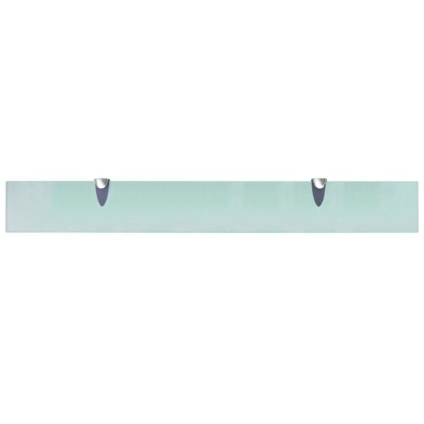 Schwebendes Regal Glas 80×10 cm 8 mm