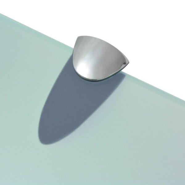 Schwebendes Regal Glas 100×10 cm 8 mm