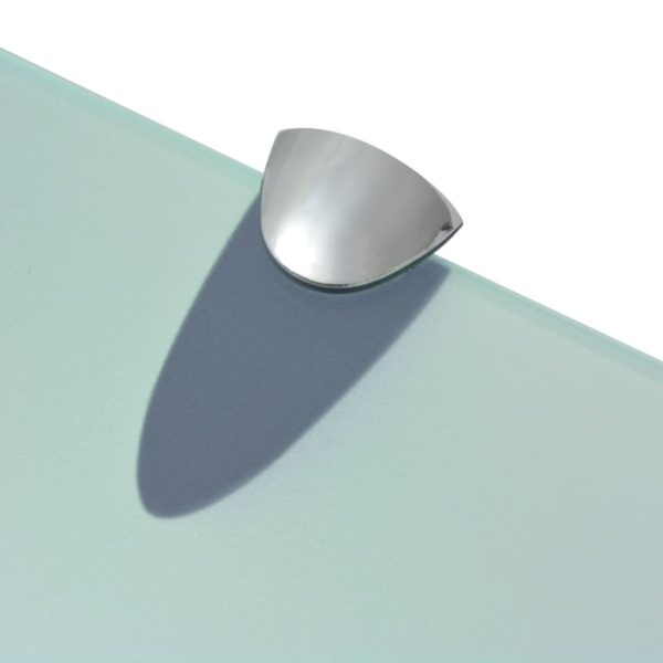 Schwebendes Regal Glas 80×20 cm 8 mm