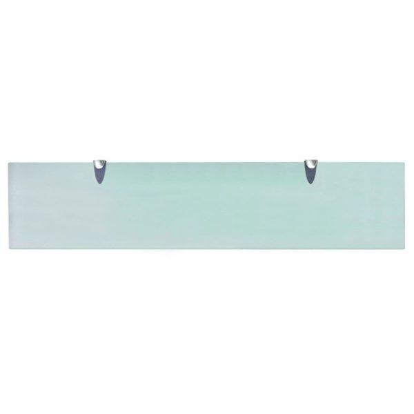 Schwebendes Regal Glas 90×20 cm 8 mm