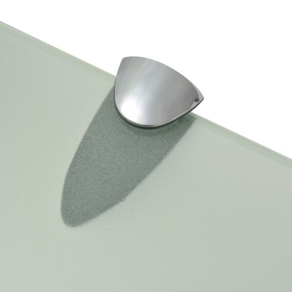 Schwebendes Regal Glas 40×20 cm 8 mm