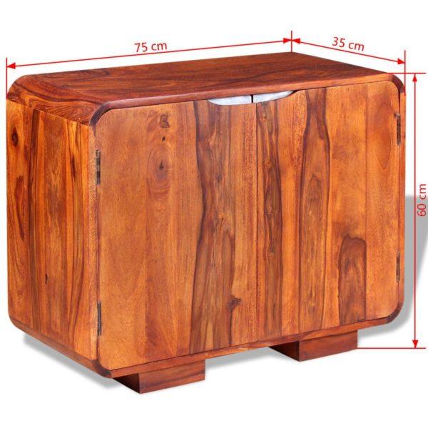 Sideboard Massivholz 75 x 35 x 60 cm