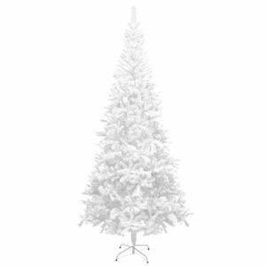 Künstlicher Weihnachtsbaum L 240 cm Weiß