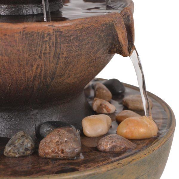 Zimmerbrunnen mit Pumpe Polyresin
