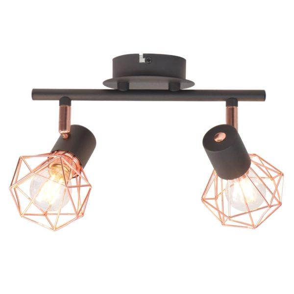 Deckenlampe mit 2 LED-Glühlampen 8 W