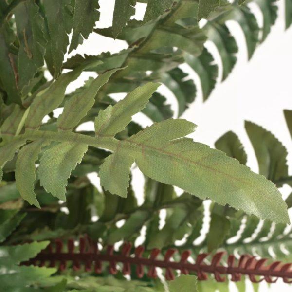 Künstliche Farnpflanze mit Topf 60 cm Grün