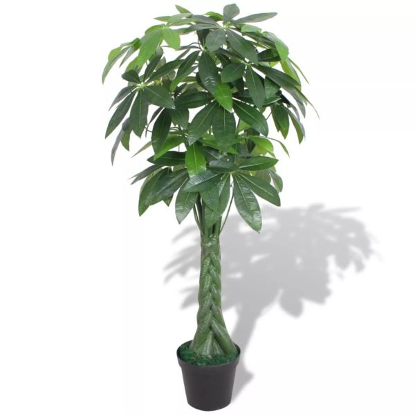 Künstliche Glückskastanie mit Topf 145 cm Grün